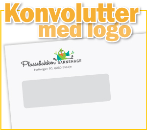 Konvolutter Med Logo Avseth