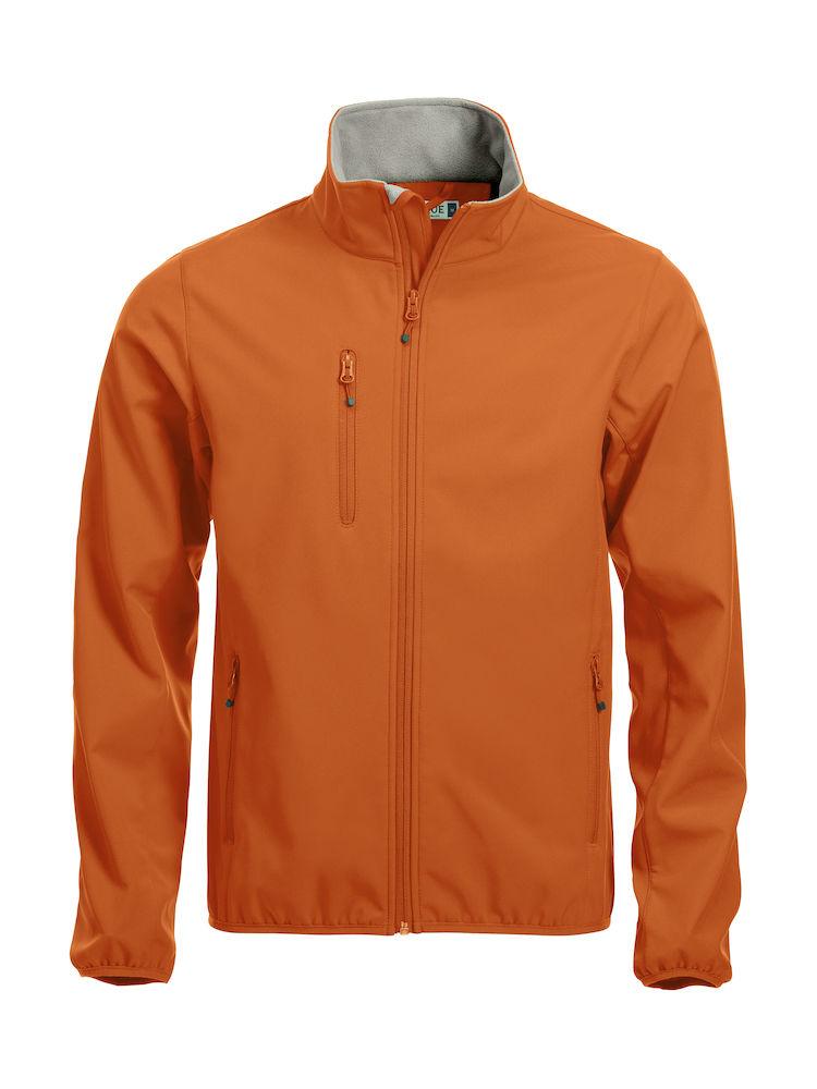 Softshell-jakke Clique Basic, 18 blodappelsin