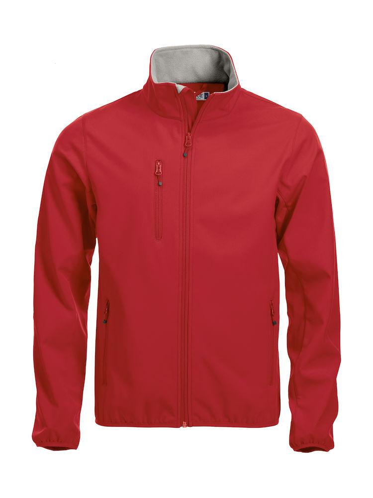 Softshell-jakke Clique Basic, 35 rød