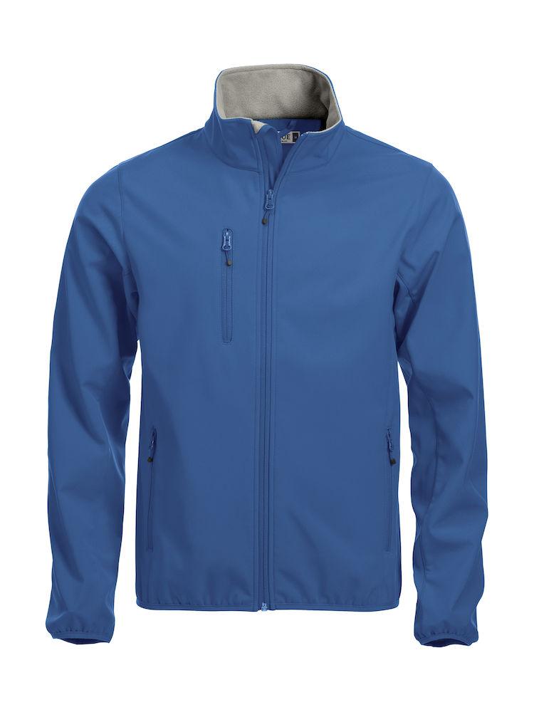 Jakker med logo: Softshell-jakke Clique Basic, 55 kornblå