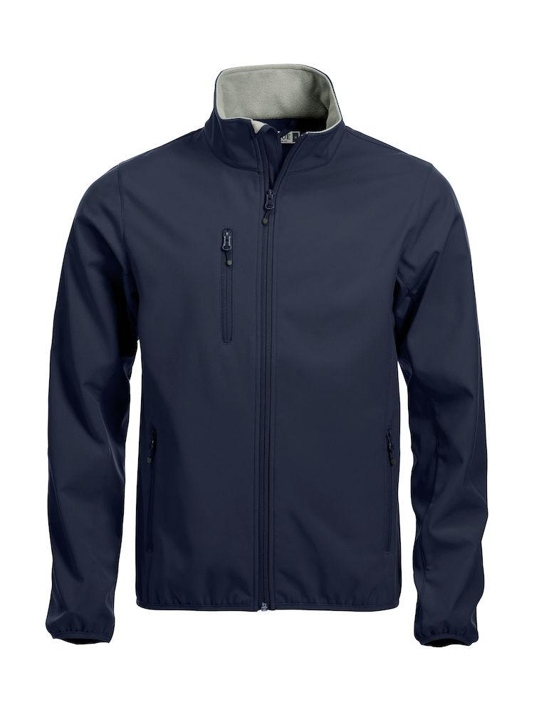 Softshell-jakke Clique Basic, 580 mørk marine