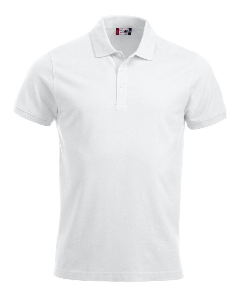 Pique-skjorte Classic Lincoln, hvit