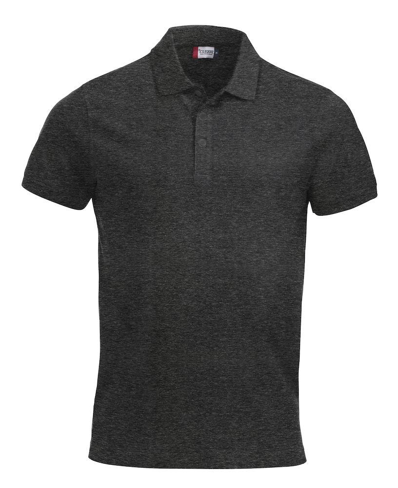 Pique-skjorte Classic Lincoln, Antrasitt