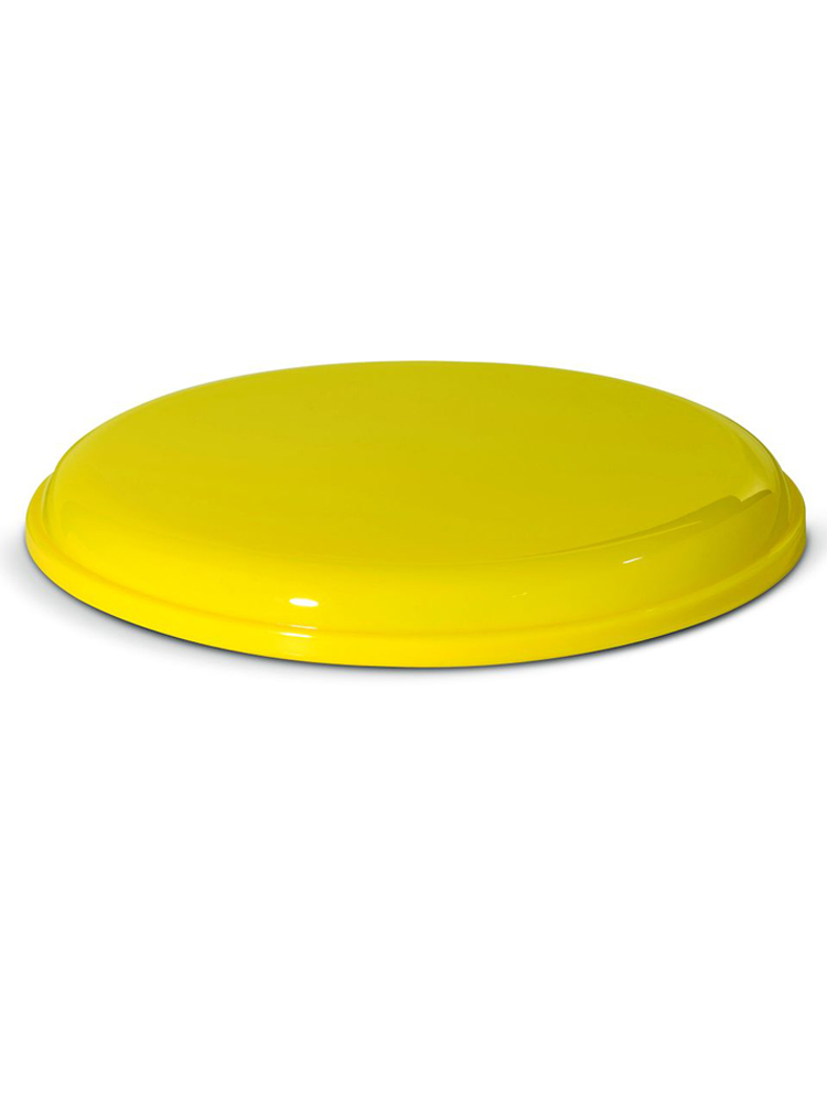 Frisbee med logo Gul