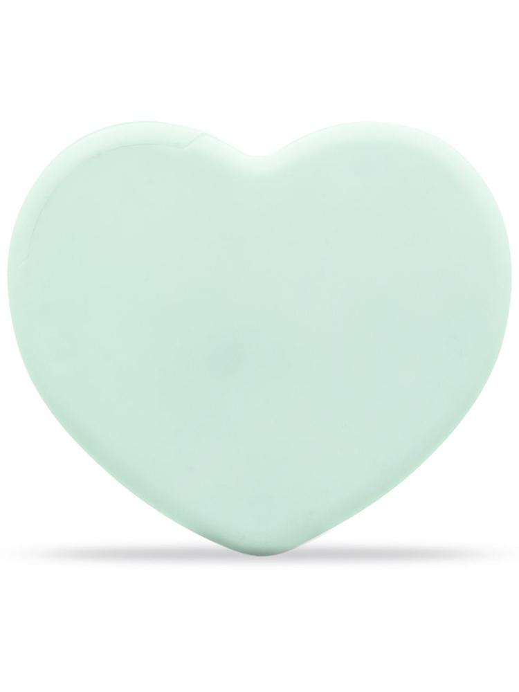 Pastiller Med Logo Mint Hjerte, Hvit