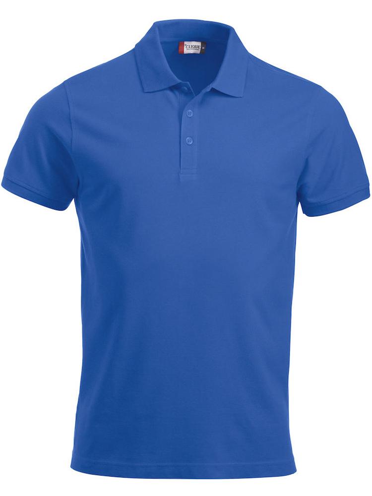 Pique-skjorte Classic Lincoln, Kornblå