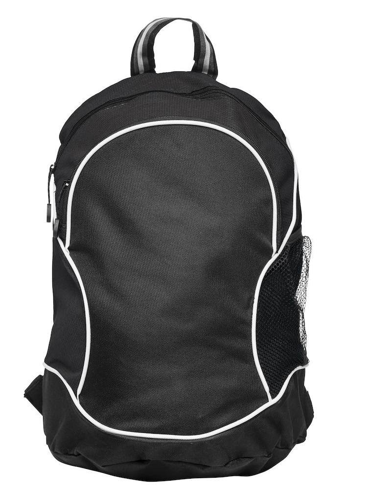 Ryggsekk Clique Basic Backpack, Sort med sort