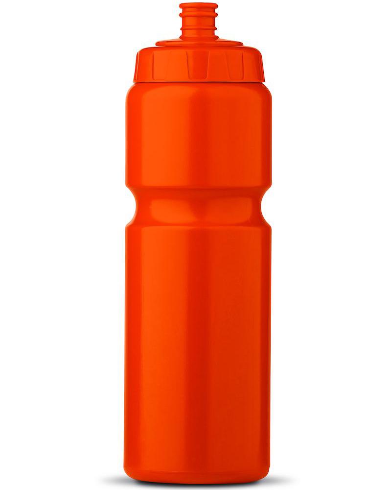 Sportsflaske med logo, Oransje