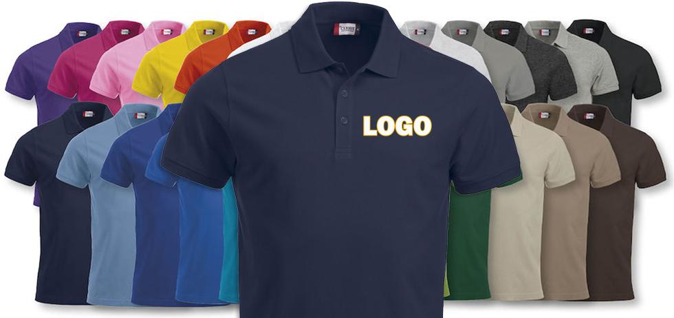 Piqueskjorter Med Logo
