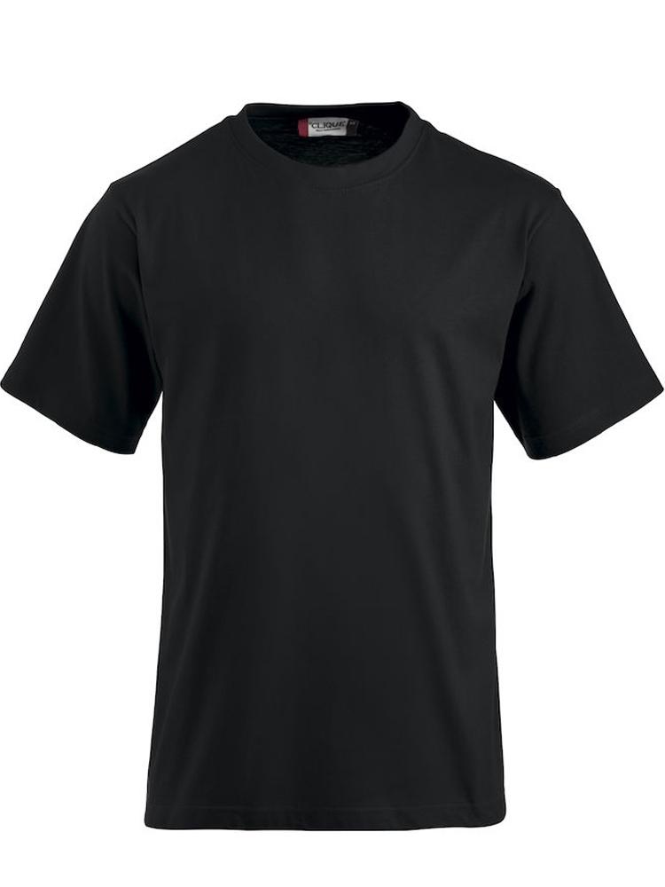 T-skjorte Clique Classic-T, Sort