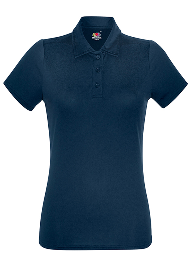 Fruit Of The LoomLady Fit-Performance Polo, Dark Navy