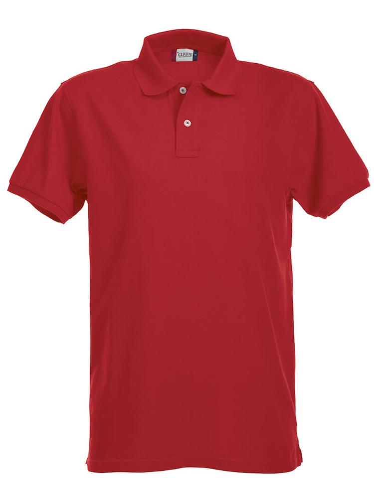 Premium Polo, rød