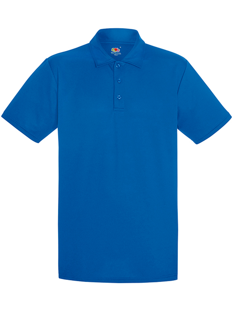 Fruit Of The Loom Performance Polo, Royal Blue