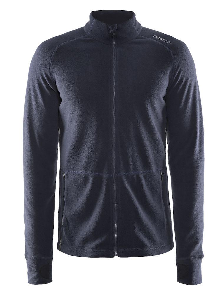 Craft Full Zip Micro Fleece Jacket, Gravel