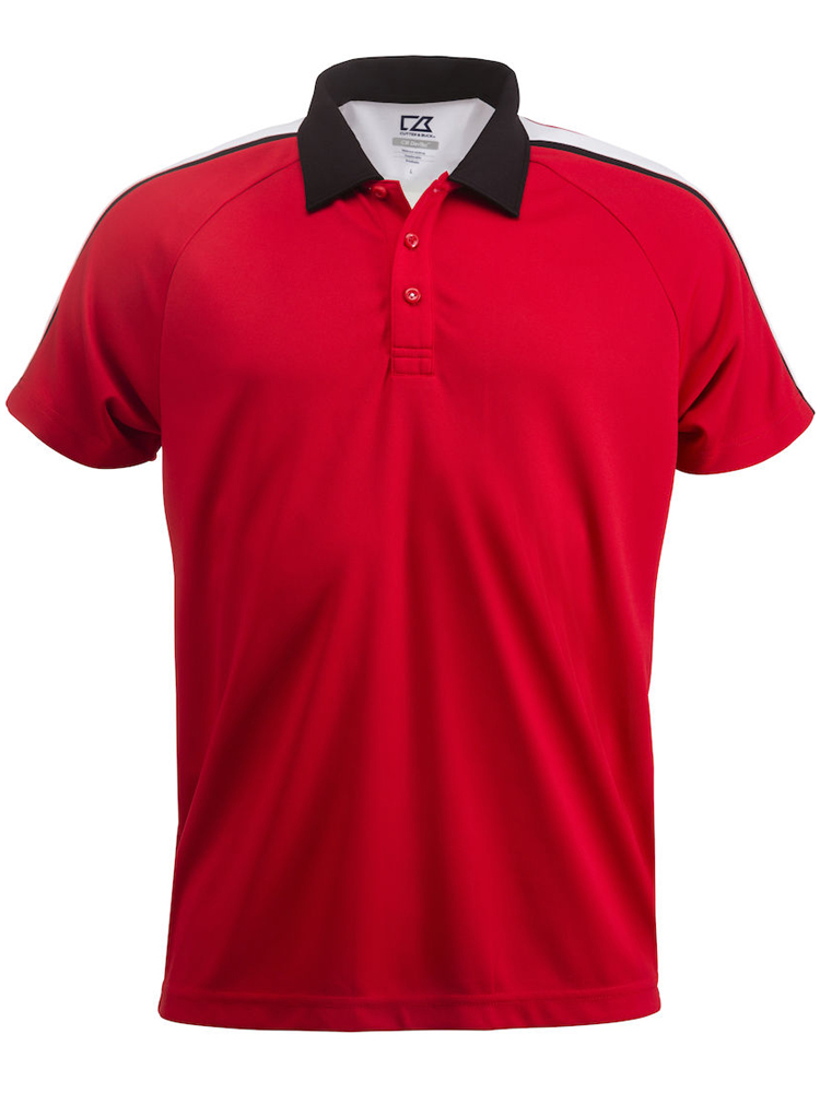 Cutter & Buck Breakers Polo Men, Roed
