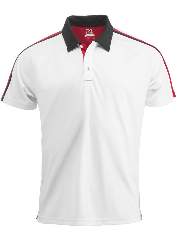 Cutter & Buck Breakers Polo Men, Hvit