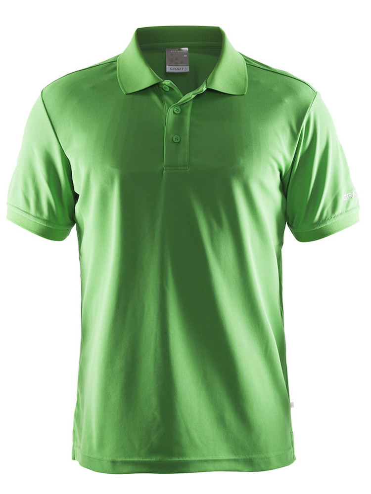 Craft Polo Shirt Pique Classic, Craft Green