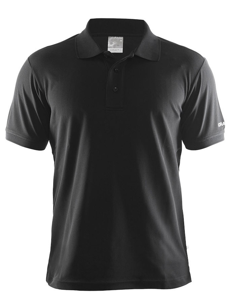 Craft Polo Shirt Pique Classic, Black