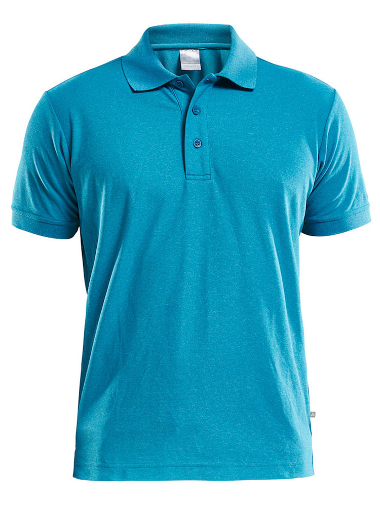 Craft Polo Shirt Pique Classic, Gale Melange