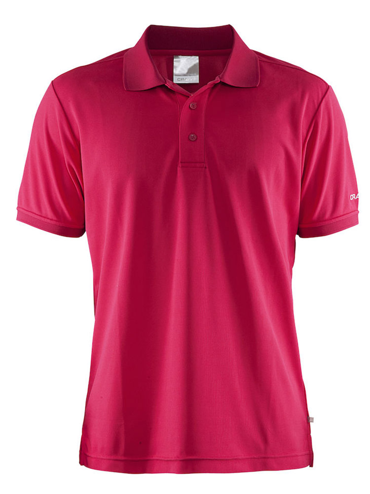 Craft Polo Shirt Pique Classic, Russian Rose
