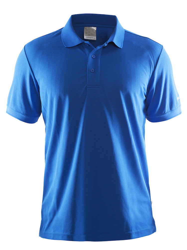 Craft Polo Shirt Pique Classic, Sweden Blue