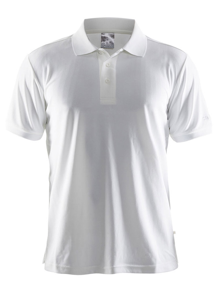 Craft Polo Shirt Pique Classic, White