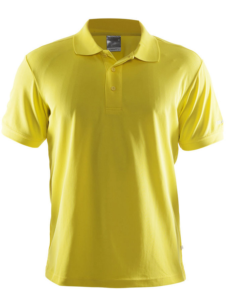 Craft Polo Shirt Pique Classic, Yellow