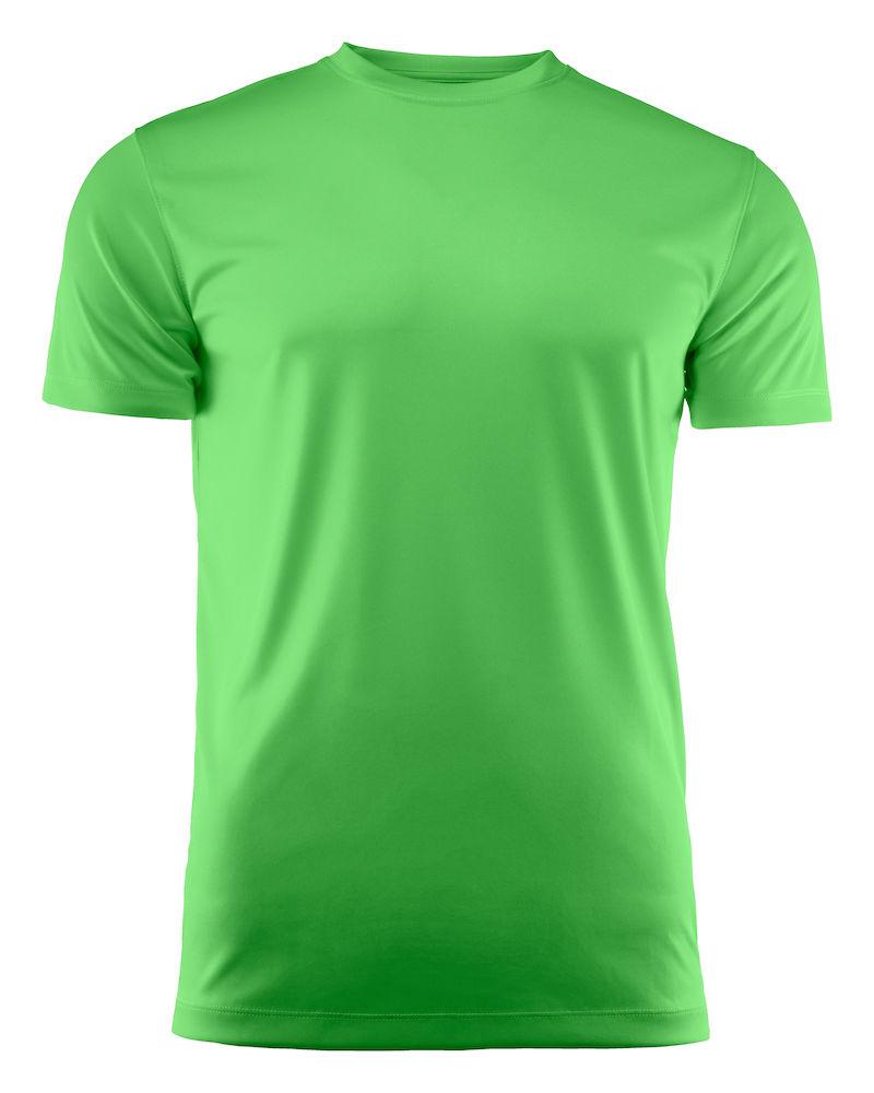 T-skjorte Printer Run, Lime