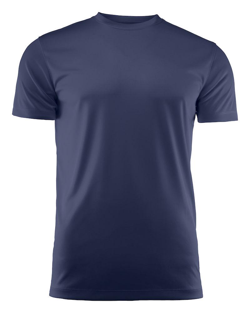 T-skjorte Printer Run, Marine