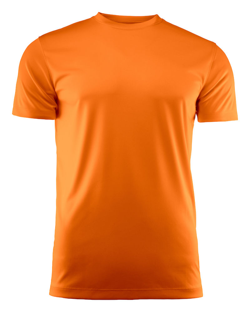 T-skjorte Printer Run, Oransje