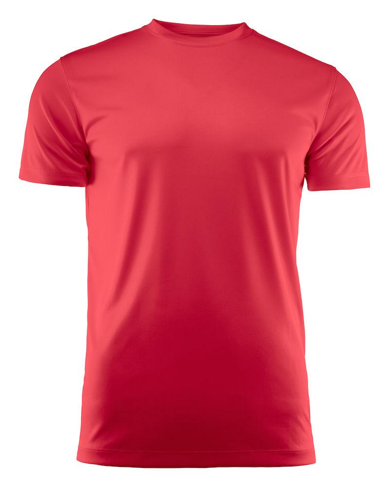 T-skjorte Printer Run, Rød