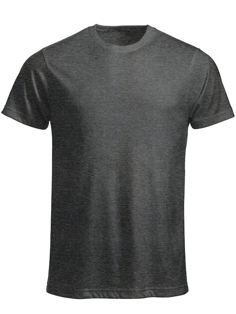 T-skjorte Clique New Classic-T, Antrasitt melert