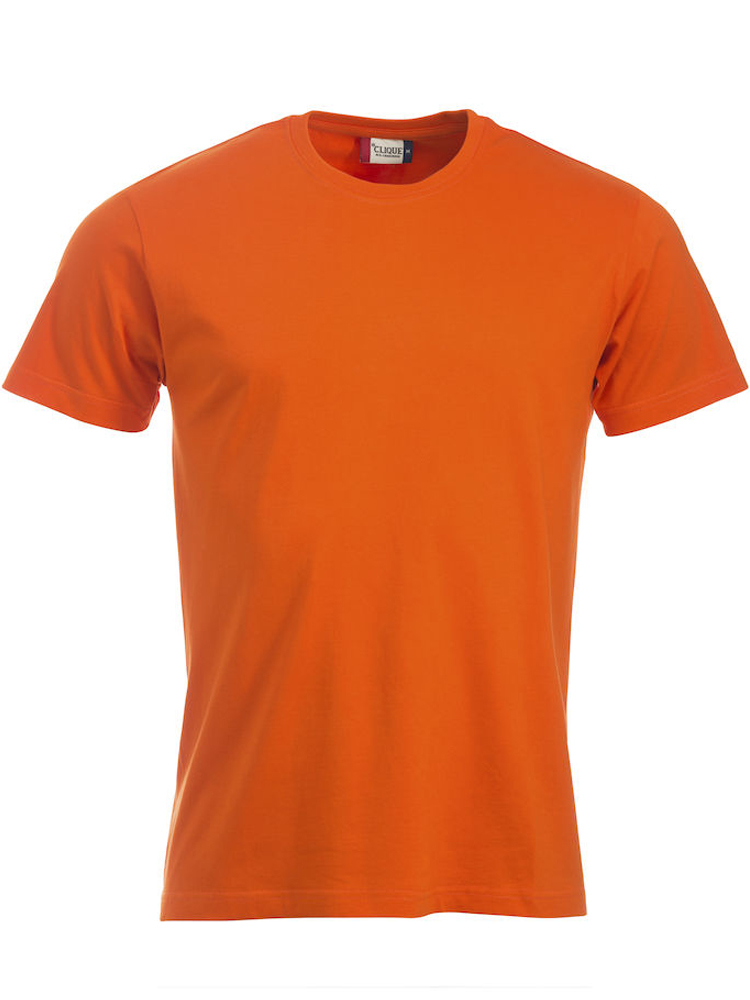 T-skjorte Clique New Classic-T, Blodappelsin