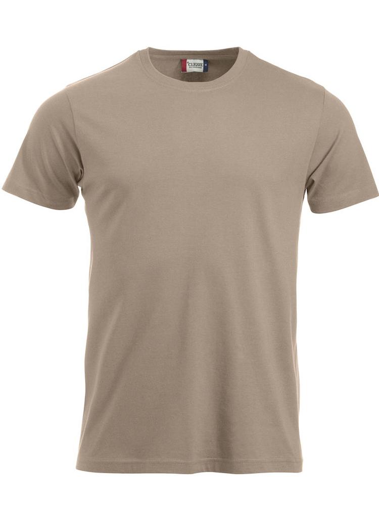 T-skjorte Clique New Classic-T, Caffe latte