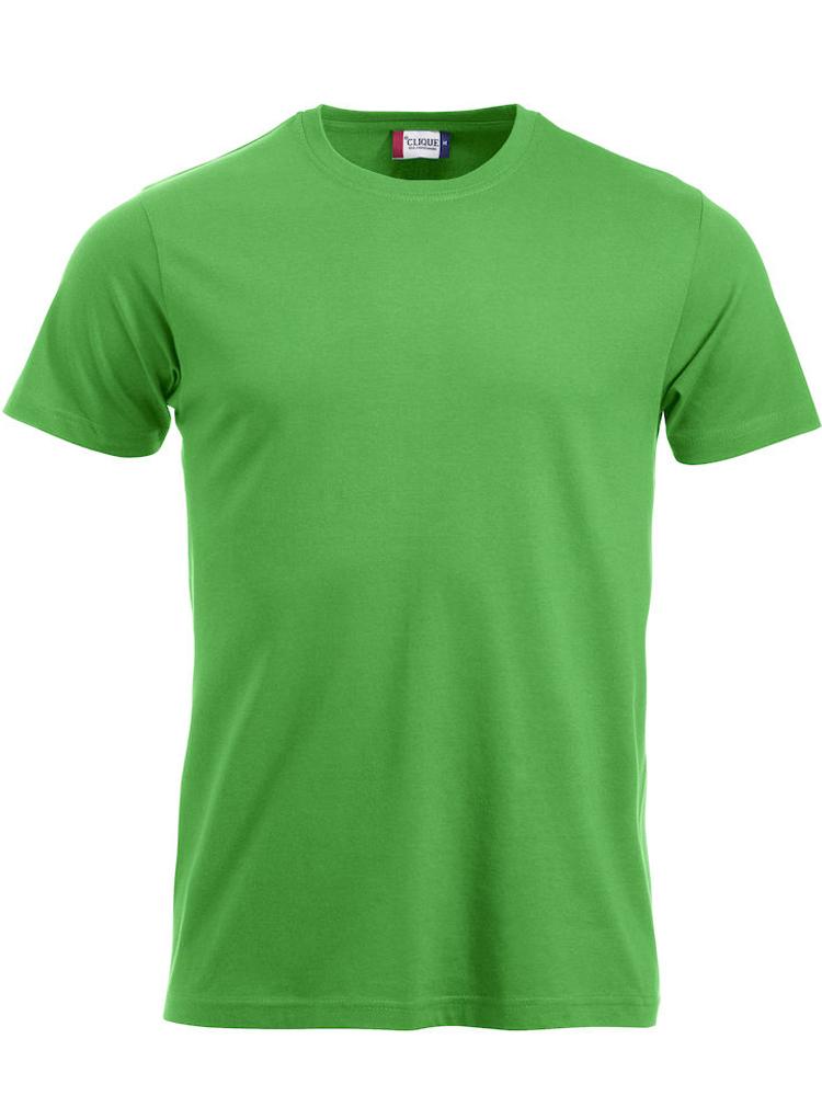 T-skjorte Clique New Classic-T, Eplegrønn