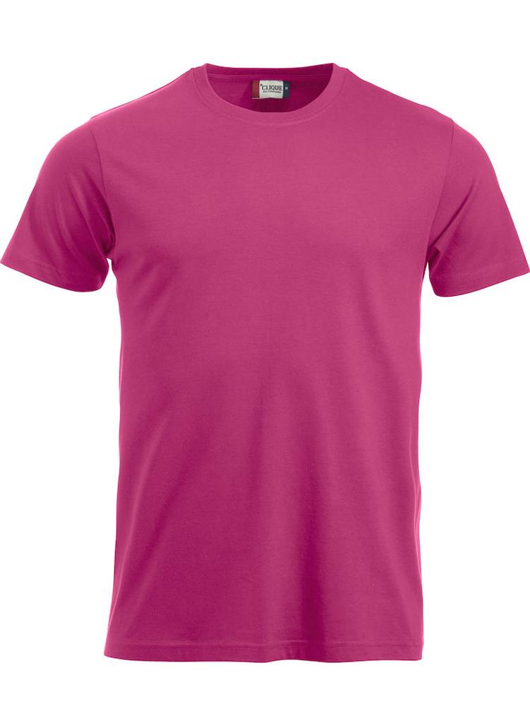 T-skjorte Clique New Classic-T, Klar cerise