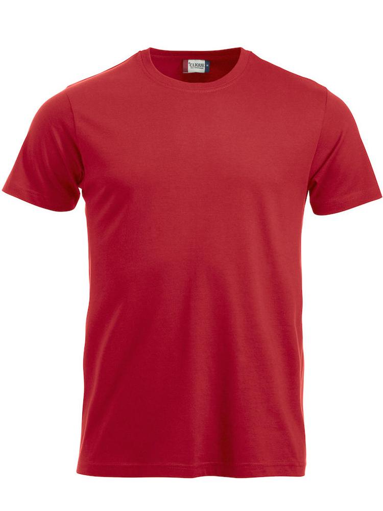 T-skjorte Clique New Classic-T, Rød