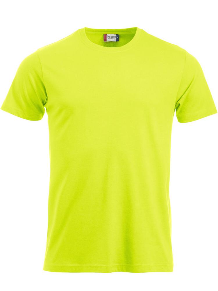 T-skjorte Clique New Classic-T, Visibility grønn