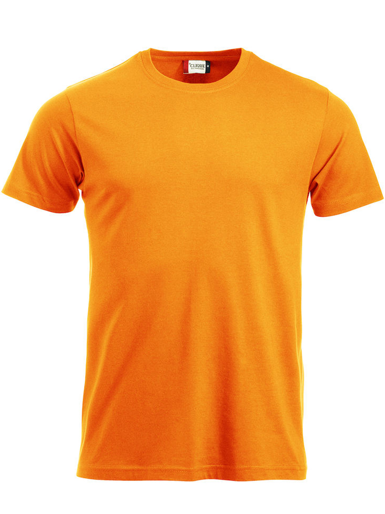 T-skjorte Clique New Classic-T, Visibility orange