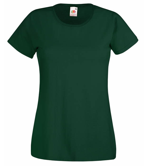 Fruit of the Loom Valueweight T Lady, Bottle Green