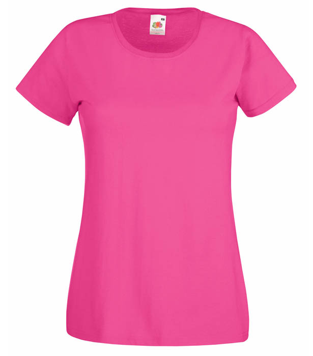 Fruit of the Loom Valueweight T Lady, Fuschia