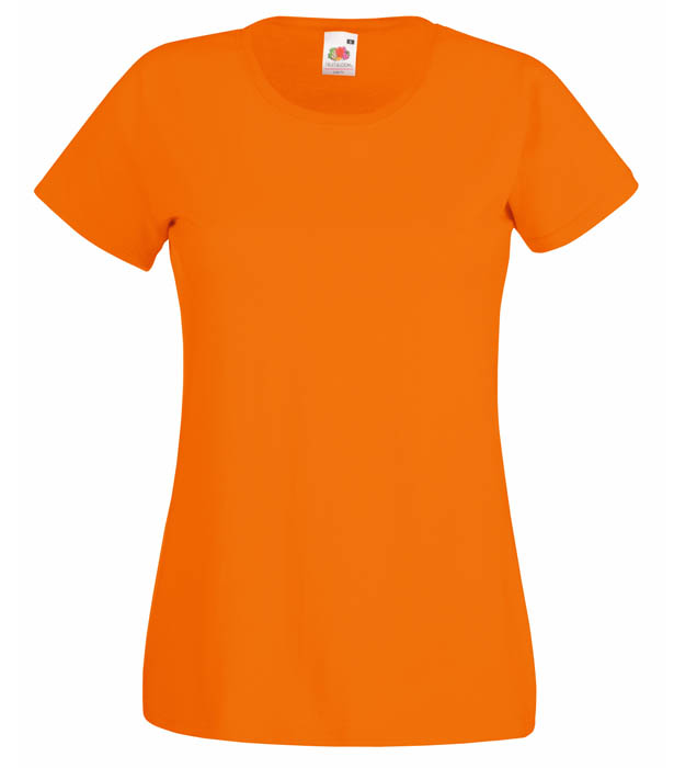 Fruit of the Loom Valueweight T Lady, Orange