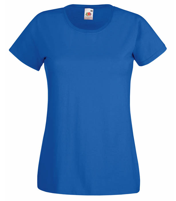 Fruit of the Loom Valueweight T Lady, Royal Blue
