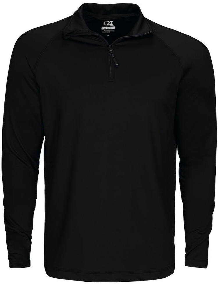 Cutter & Buck Coos Bay Half Zip, Svart