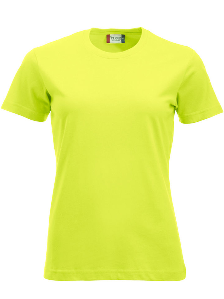 Clique New Classic-T Ladies, Visibility Green