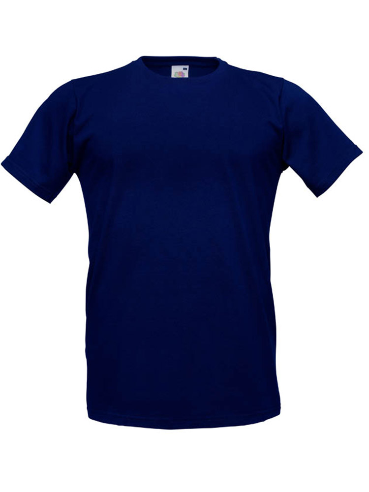 Fruit T-Shirt Fitted Valueweight T, Deep Navy