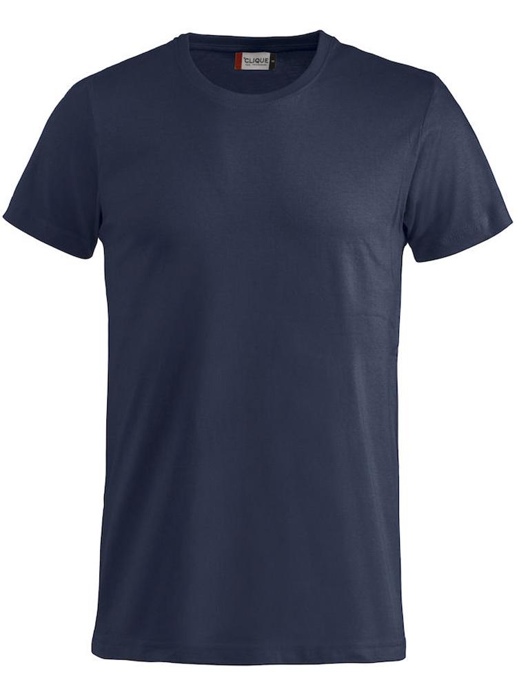 T-skjorte Clique Basic-T, Mørk marine