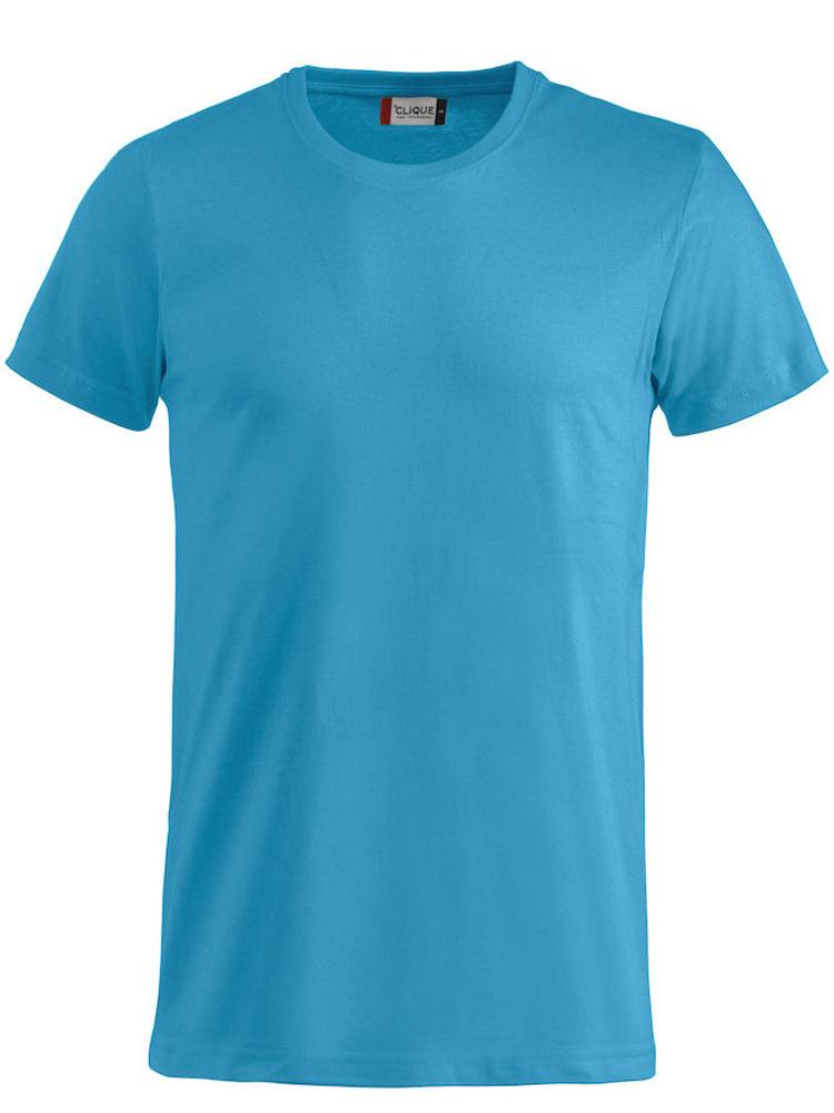 T-skjorte Clique Basic-T, Turkis