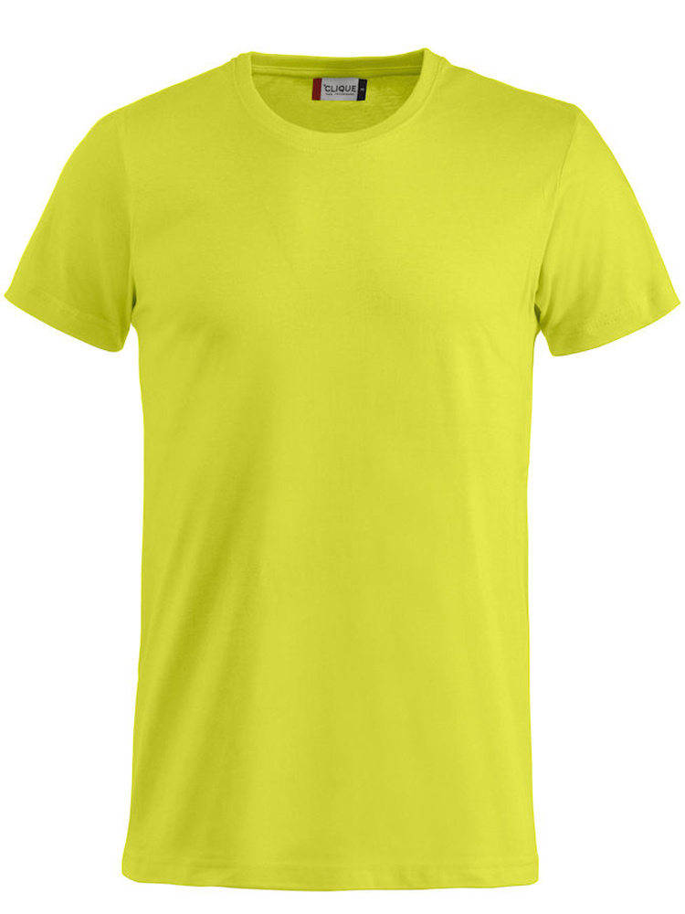 T-skjorte Clique Basic-T, Visibility green