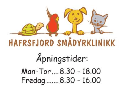 Reklameskilt Hafrsfjord Smådyrklinikk